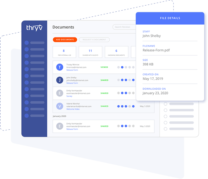 Thryv Product screenshot